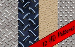 Diamond Plate Patterns by alecmagician