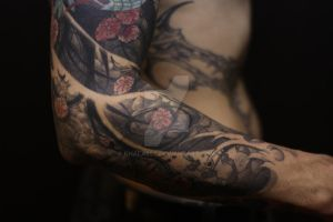 Tattoo japanese forearm by Khalaiiss