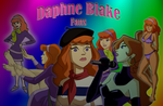 Daphne Collage Of fans for fans by Rhykross