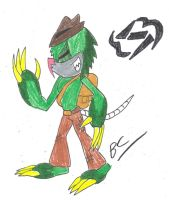 Thunder of Greed - Nicholas by BlackCarrot1129