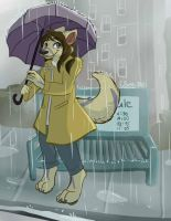 I've Always Had A Soft Spot for Rainy Days by PixelSunshine
