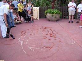 Street Artist at Disney by Dream-finder