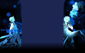 Cloud Strife FREE youtube bg by xPoisonousCherry