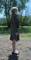 Side Profile In Skirt by Neriah-stock
