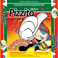 Pizzito Pizza Mascot by armsofsin