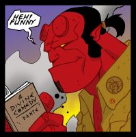 HELLBOY reads by SURFACEART