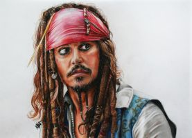 Jack Sparrow by MaryMaryLP