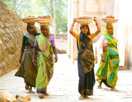 Women at work India by CitizenFresh