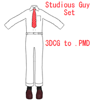 MMD- Studious Guy Set -DL by MMDFakewings18