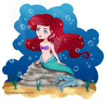 Ariel by MermaidTides