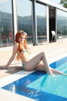 Nami timeskip,summer cosplay, 'Crimin' version by Mellorineeee