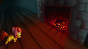 SOTB - The Fireplace by Cyberdrace