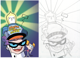 Dexter's Lab issue 2 cover by RyanJampole