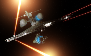 NCC-201 Fires All Phasers by aalenfae