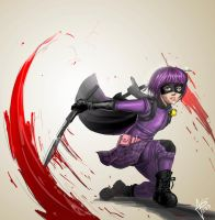 Hit-Girl Fanart by hikashy