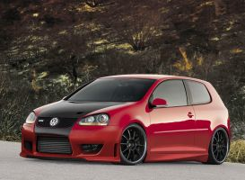 VW Golf GTI by AladineSalame