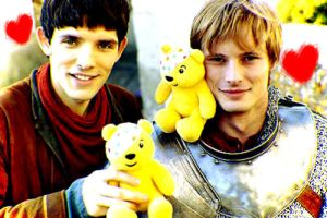 Colin and Bradley and the cute bears by MagicalPictureMaker