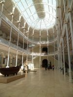 Inside the national museum of Scotland by Macleeanne