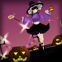 HAPPY HALLOWEEN FROM THE WITCH + Video Links by dug-chi