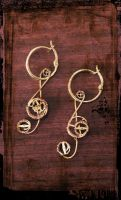 Steampunk Treble Clefs by Charmed-Ravenclaw