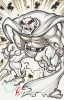 Wake Up And Draw ...Etrigan! by skulljammer