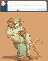 Color Palette Challenge- Russel and Noodle by BabyPhat268