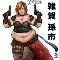 BBW Saika Magoichi by TheAmericanDream