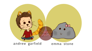 Garfield and Stone by Mariana-S