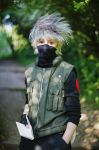 Kakashi Ready and Waiting by firecasterx2