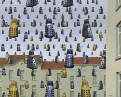 Magritte Dalek Invasion by whosname