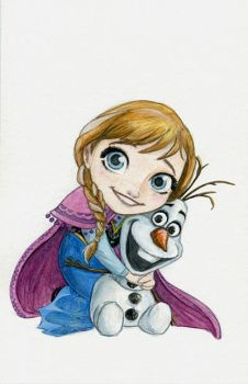 Anna by AmberStoneArt
