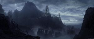 the Tower Above Stone City by JJasso