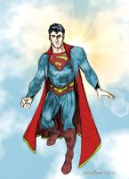 Superman Redesign by Jimmy-B-Deviant