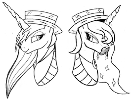 The Amazing Royal Sisters by AncientOwl