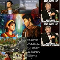 Help me to Help Shenmue by MexPirateRed