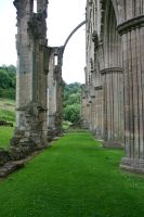 Rievaulx Abbey 12 - Stock by GothicBohemianStock