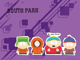 Wallpaper .:South Park:. Full by FullmetalSparkle