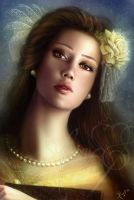 Belle Portrait by Jennyeight