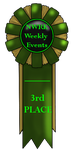 NWRK-WME - 3rd Place Ribbon. by NightCur