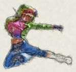 Sketch Artist Photoshop Action by ArtoriusGothicus