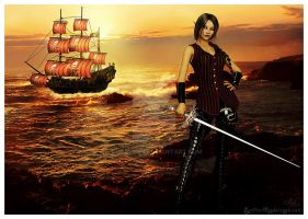 Captain Kyrayna by Shaelynn