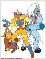 Bravestarr Vector by babylon-sticks
