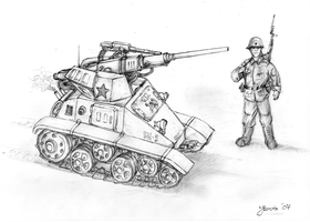 One-man tank concept by JanBoruta
