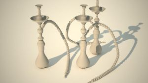 Three shisha Grey by tom55200