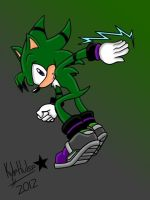 TJ The Hedgehog by kyleultra128
