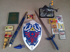 My Zelda Collection (Always growing) by DJBrowny