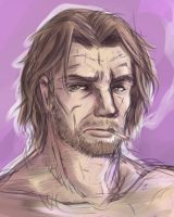 Bigby Wolf (Wolf Among Us) by Paper-pulp