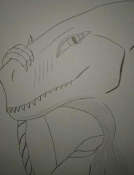 Jim the Dragon(Uncolored by elitghost