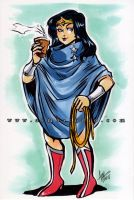 Poncho Wonder Woman by aimo