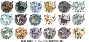 10 POINT CAT ADOPTABLES (CLOSED) by 0palite